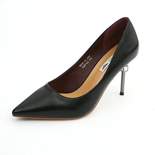con de Temperamento Boca Multa de Trabajo de YMFIE Solo Baja la Zapatos Tacones La Las Fiesta A Mujeres Altos Sexy Rhinestone Zapatos Zapatos p4wAXT