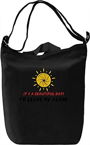 It's a beautiful day Borsa Giornaliera Canvas Canvas Day Bag| 100% Premium Cotton Canvas| DTG Printing|