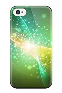 Cute High Quality Iphone 4/4s Abstract Green Case