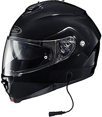 HJC IS-MAX II IS-MAX2 Mine Motorcycle Helmet Red L LG Large Modular SunScreen