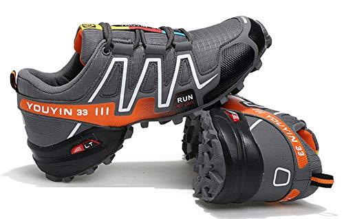 Running Jogging Zapatillas Deportes Fitness Gray Gimnasio Casual Caminar 4 Atlético Speedcross Hombres tAwxqSaS