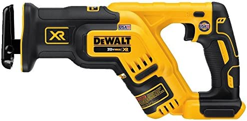 DEWALT 20V MAX XR Reciprocating Saw, Compact, Tool Only DCS367B