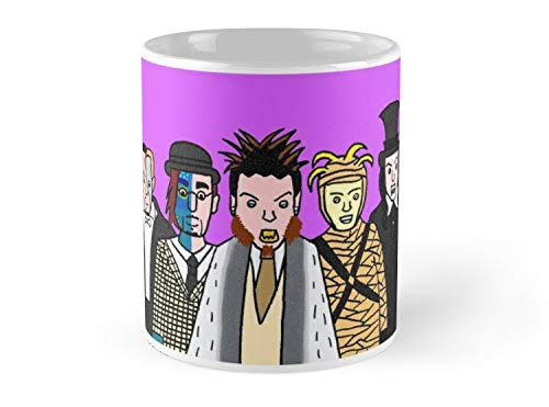 Land Rus Halloween Backstreet Boys Mug - 11oz Mug - Features wraparound prints - Dishwasher safe - Made from Ceramic - Best gift for family friends