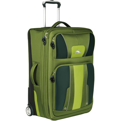 High Sierra Evolution 25-Inch Wheeled Upright Suitcase, Amazon, Bags Central