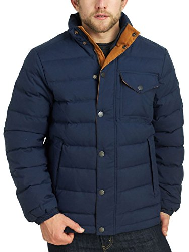 Timberland Mount Hancock Down Jacket - Men's Black Iris Large