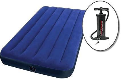 Amazon.com: Intex Airbed – Colchón con doble individual 8.75 ...