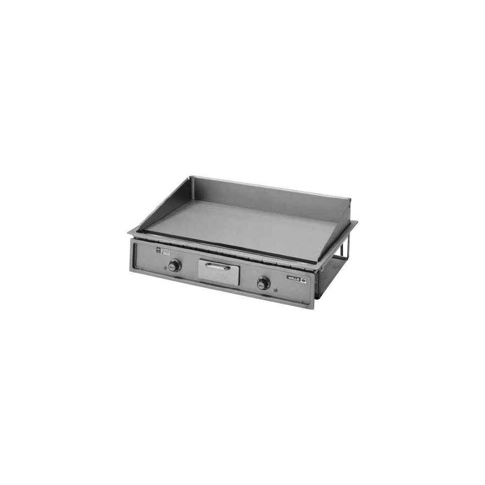 """240 Volts Wells G 196 Drop In 36"""" Countertop Electric Griddle   12000W Kitchen & Dining"""
