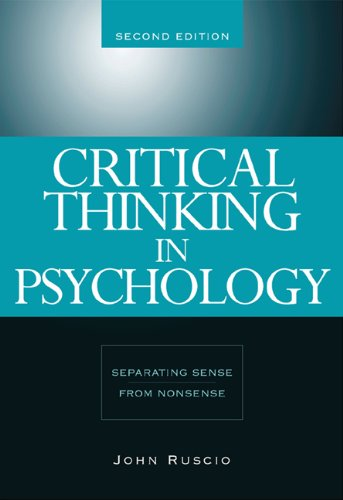 Bundle: Critical Thinking in Psychology: Separating Sense from Nonsense, 2nd + InfoTrac College Edition