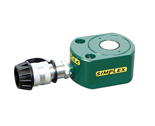 Simplex RFS20 Steel Flat Jack Spring Return Cylinder, 9030 PSI, 2.38'' Bore, 0.44'' Stroke by Simplex