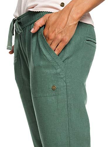 Green Lover Symphony Roxy Pantalon Erjnp03226 En Pour Vert Femme New Lin Duck TFqHP4n