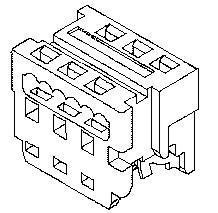 Headers & Wire Housings PICOFLEX 26P HSG LOPRO IDT AU