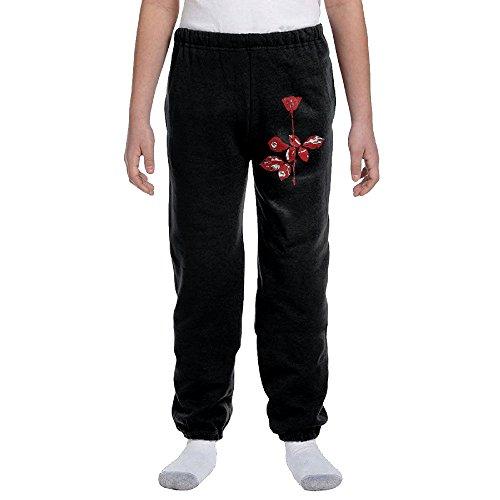 Depeche Mode Boy's Sport Preshrunk Cotton Sweatpants ()