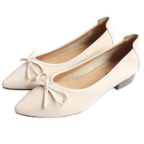 Zapatos Zapatos Retros de Baja de cómodos de Las tacón la Trabajo 38 Boca bajo los Acentuados arquean EU A Zapatos Los de FLYRCX Mujeres 4wZqOUY