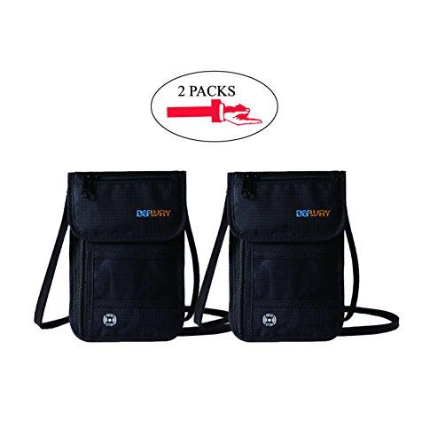 dew-2pcs-travel-passport-holder-stash-hidden-neck-pouch-rfid-blocking-travel-anti-theft-hidden-walle