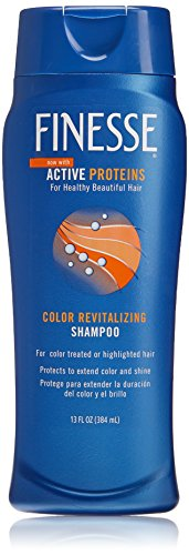 Finesse Revitalize + Strengthen Color Revitalizing Shampoo - 13oz - 6-Pack - Protect to Extend Vibrancy & Shine of Color Treated Hair by Finesse