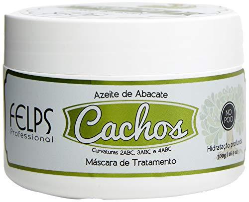 Cachos Máscara Azeite de Abacate 300G, Felps, 300gr