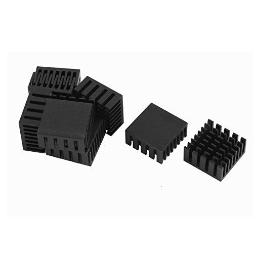 uxcell-10-pcs-black-aluminum-cooler-radiator-heat-sink-heatsink-20mm-x-20mm-x-10mm