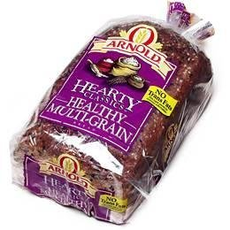 Arnold Bread Hearty Classic Healthy Multi Grain Wide Pan Loaf, 24 OZ by Arnold