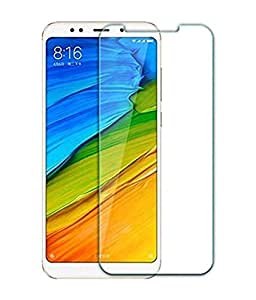 Xiaomi Redmi 5 Tempered Glass Shockproof Screen Protector Guard - clear