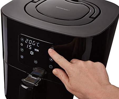 Silvercrest SHFD 1650 B1 - Freidora de aire caliente (8 programas preestablecidos, 2,3 l, con temporizador, también para asar, hornear y asar): Amazon.es: Hogar