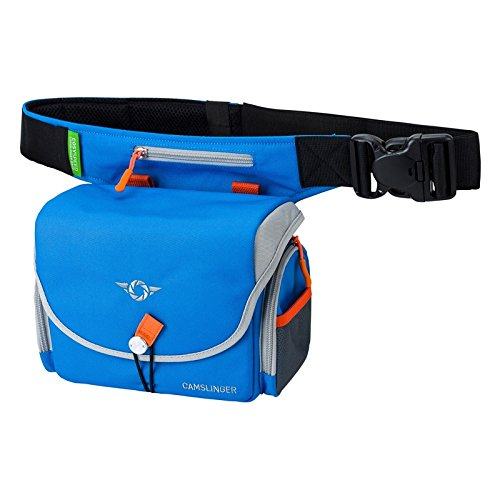 COSYSPEED CAMSLINGER Outdoor Camera Bag for Mirrorless Cameras with Integrated FidLock Magnetic Latch for Quick One Handed Operation (Blue)