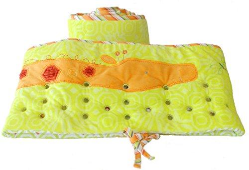 Nurture Imagination ABCs First Friends Giraffe Air Flow Crib Safety Bumper Safe Soft Breathable Liner