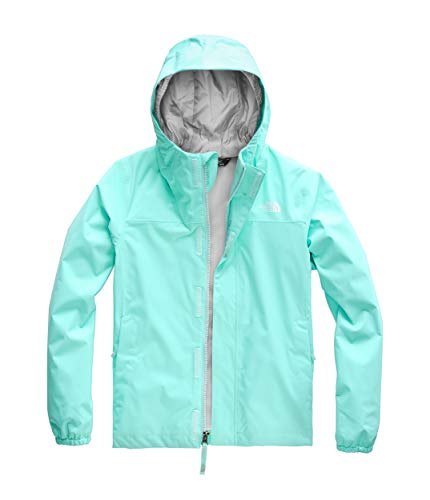 - The North Face Kids Girl's Resolve Reflective Jacket (Little Kids/Big Kids) Mint Blue Medium