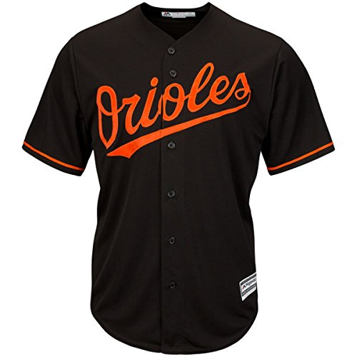 Baltimore Orioles Youth Cool Base Alternate Team Jersey Black (Black, Youth Medium - Series Player Orioles Baltimore