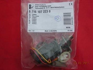 Bosch Worcester Greenstar CDI Sensor de Flujo 87161072230