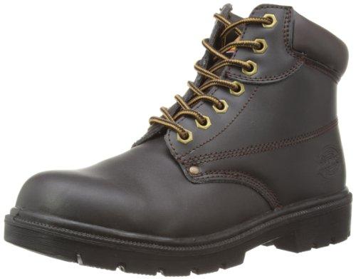 Dickies Unisex Antrim Super Steel Toe-cap Safety Boot / Footwear (12.5 US) (Brown) by Dickies
