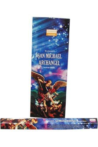 Saint Michael Archangel – 120 Sticksボックス – Darshan Incense B004FWMCT6