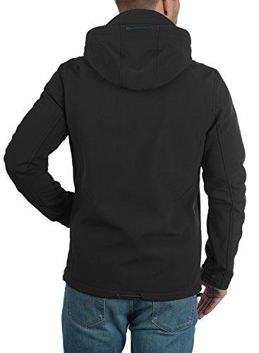 hombre Chaqueta Black INDICODE Softshell Deegan para 999 q6CwBIwy
