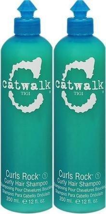 - TiGi Catwalk Curls Rock (1) Curly Hair Shampoo, 12.0 Fl. Oz. / 350 mL. each (2 Ct.)
