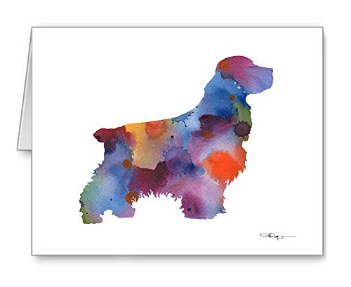 Cocker Spaniel - Set of 10 Note Cards With Envelopes