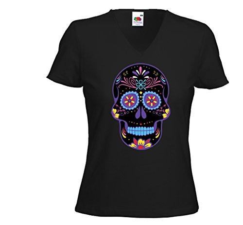 Fruit of the Loom - Camiseta - para mujer negro XL