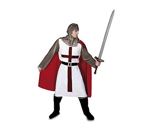 Disfraz de Caballero Medieval para hombre talla M-L: Amazon.es ...