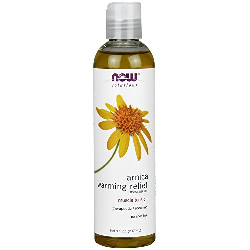 NOW Solutions Arnica Warming Relief Massage Oil,8-Ounce