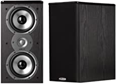 Polk Audio TSi200 Bookshelf Speakers Pair Black