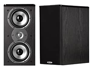 Polk Audio TSi200 Bookshelf Speakers (Pair, Black)