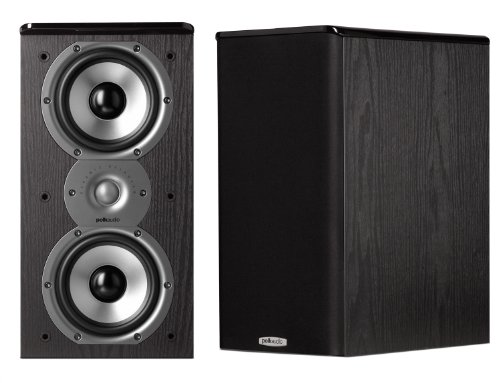 (Polk Audio TSi200 Bookshelf Speakers (Pair, Black))