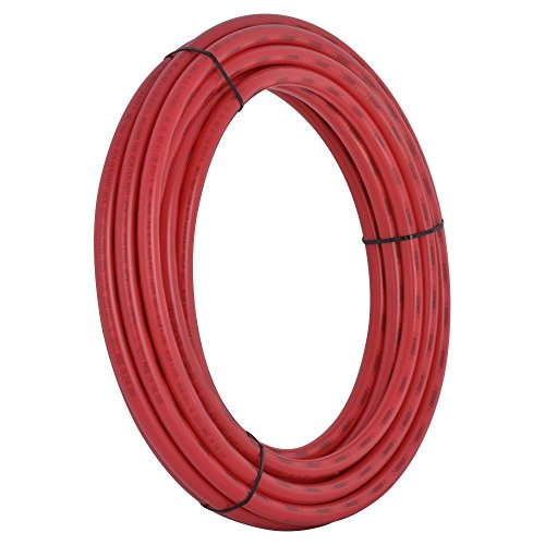 SharkBite PEX Pipe Tubing 3/4 Inch, Red, Flexible Water Tube, Potable Water, Push-to-Connect Plumbing Fittings, U870R100, 100 Foot (Copper Tubing Prices)