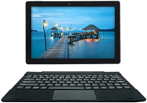 [3 Bonus Items] Simbans TangoTab 10 Inch Tablet and Keyboard 2-in-1 Laptop, 3 GB RAM, 64 GB Disk, Android 9 Pie, Mini-HDMI, Micro-USB, USB-A, Inbuilt GPS, Dual WiFi, Bluetooth Computer PC – TL93