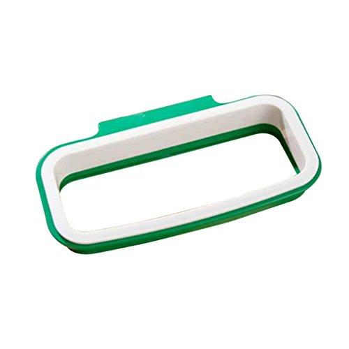 Cuisine Armoire Cabinet Tailgate Support de rangement Porte-sac poubelle Sacs poubelle suspendus rack Regard Natral