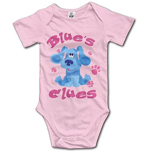 Grace Little Blue's Clues Dog Unisex Classic Infant Romper Baby Boy Jumpsuit 6 M Pink