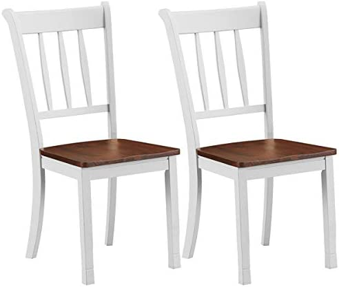 Giantex Solid Wood Whitesburg Dining Chair