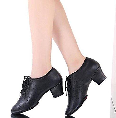 KUKI Lehrer Schuhe Latin Tanzschuhe Adult Tanzschuhe mit Ballroom Dance Modern Dance Schuhe 1