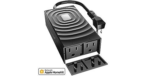 meross Smart WiFi Waterproof Outdoor Plug Outlet only $19.74