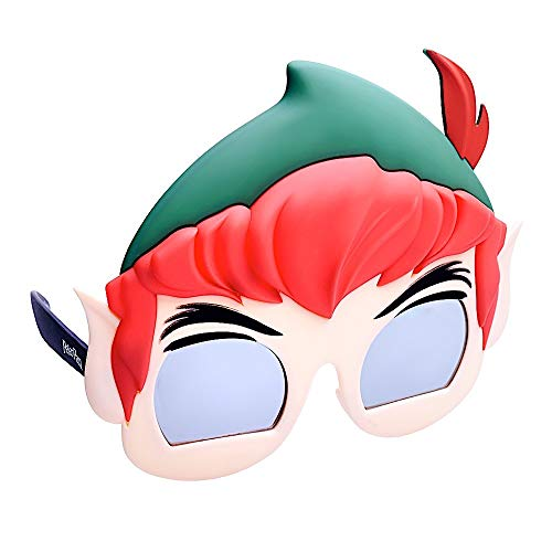 (Sun-Staches SG3354 Officially Licensed Peter Pan, One Size, Green, Red,)