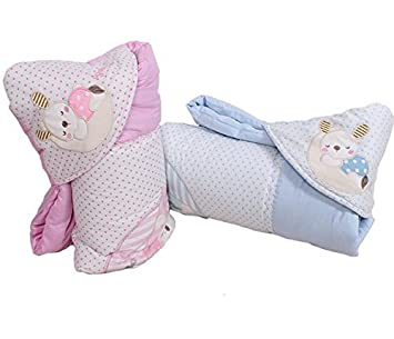 Amazon.com : 2014 baby blanket Infant hoodie Swaddle Swaddling fleece sleeping bag cart stroller sack Newborn autumn winter Sleepsacks : Baby