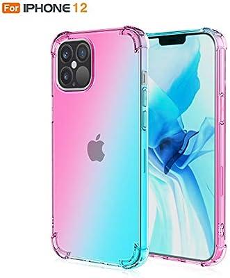 DSYYF Estuche para teléfono ultradelgado para iPhone 12, 12 Pro, 12 Pro MAX, Estuche anticaídas para teléfono de Cuerpo Completo Fundas Protectoras a Prueba de Golpes,1,12ProMax: Amazon.es: Hogar
